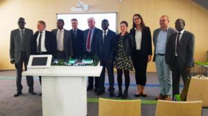 Goście z Senegalu z wizytą na OŚ Józefów